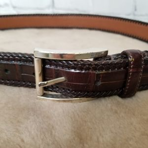 Brighton mens leather belt
